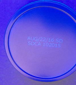 UV Readable Code On Cans